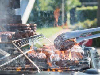 barbecue viande burger