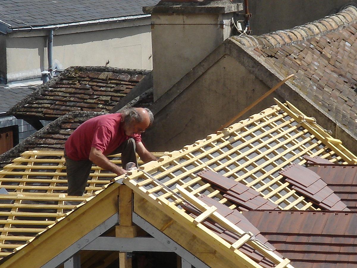 Travaux d'étanchéité de la toiture